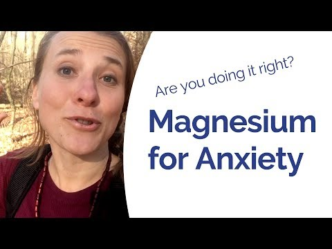 Magnesium For Anxiety - The BEST Magnesium Supplement