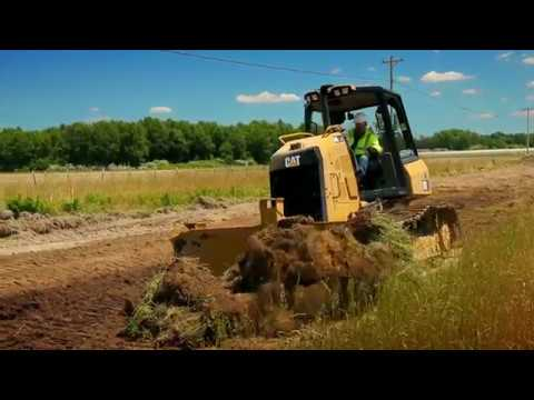 Cat® D3K2, D4K2, D5K2 Small Dozers Overview (South America, Africa, Middle East, Asia)
