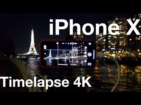 Time lapse photo iphone x
