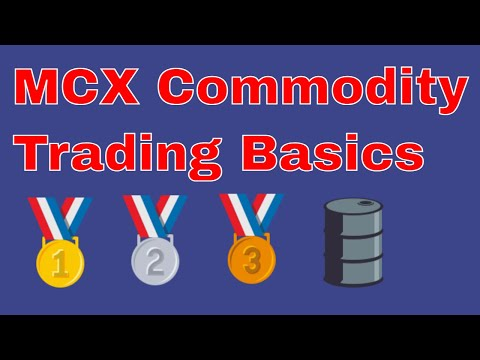 What Is Mcx Trading | Commodity Market Glossary, Meaning, Definition
