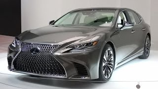 2018 Lexus LS 500 video preview