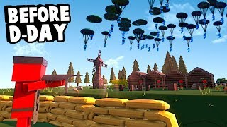 Paratroopers Land in Normandy a Day before D-Day to Win World War 2 in Ancient Warfare 3!