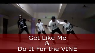 Nelly - Get Like Me X Do it for the vine | dance choreography by Ronak Sonvane || HIP HOP MANTRA