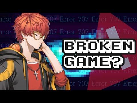 A BROKEN GAME? (ERROR CODE: 707) - Mystic Messenger Theory