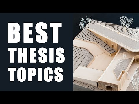 68 Thesis Topics In 5 Minutes