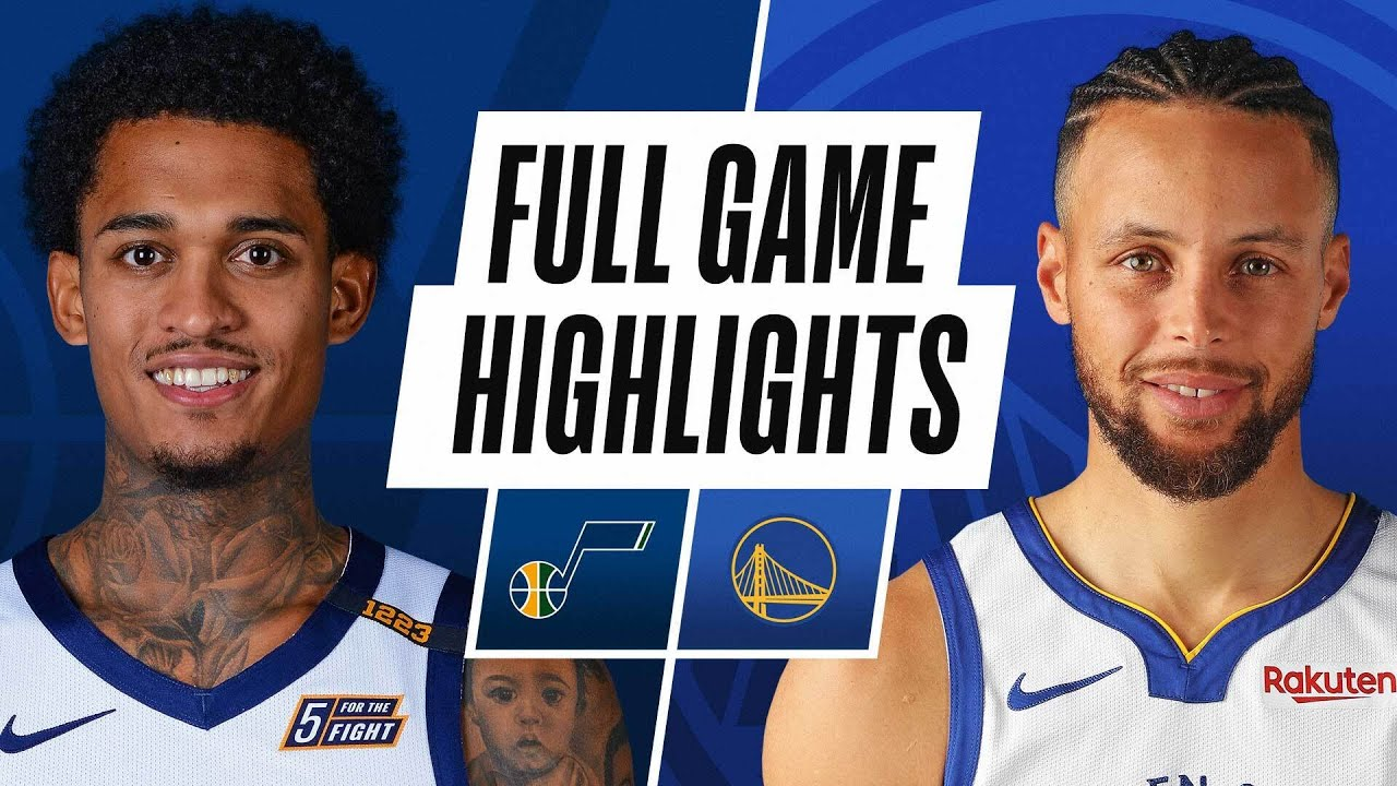 How do the Utah Jazz compare to the Golden State Warriors?