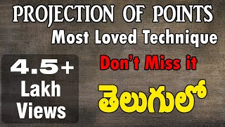 vuclip Projection of Points| Part-1| by Subhodaya| Video-1