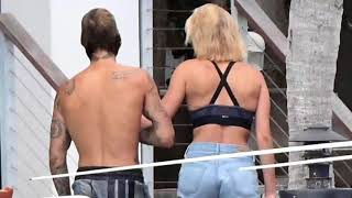 Justin Bieber & Hailey Baldwin Spotted Together in Miami, Florida   JAILEY VS JELENA