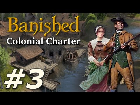 Banished: Colonial Charter (v1.71) - New Cardiff (Part 3)