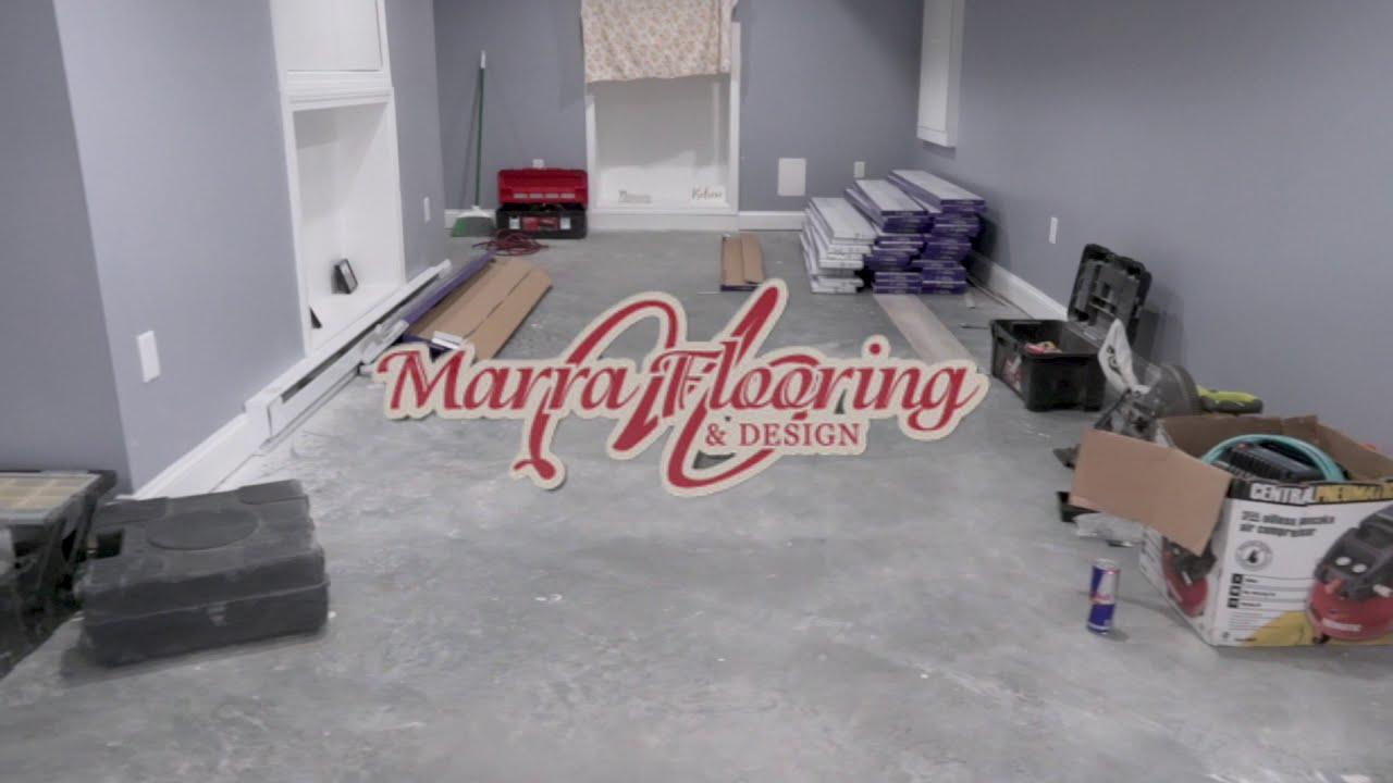 Luxury Vinyl Planking and Carpet Install