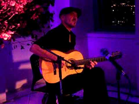Video 2 of Billy White on flamenco guitar 10 5 11 Top of the Rock, NYC 013
