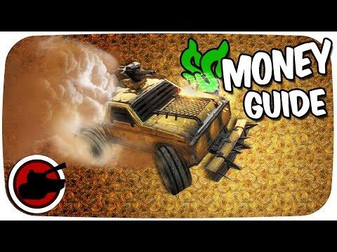 Crossout Money Guide ✠ SCRAP CA$H MONEY ✠ Crossout Gameplay