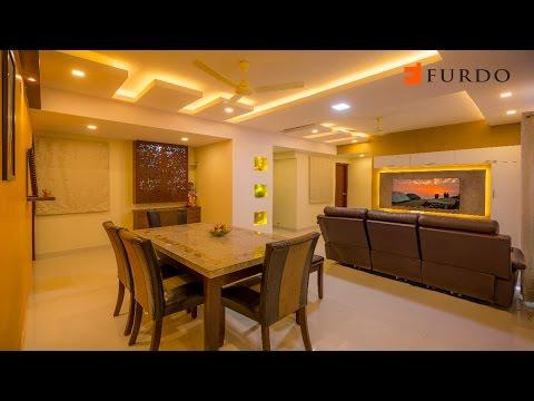 Interior Design in Bangalore: FURDO DESIGN   SJR Pavilion   3BHK