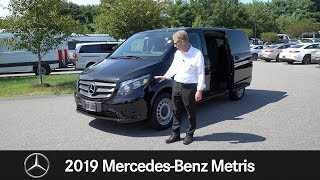 2019 Mercedes Benz Metris Passenger Video Tour With Roger Youtube