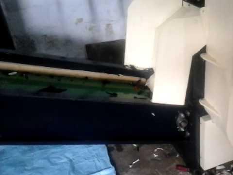 Power Mach Engineering Waste Fabric Cutting Machine - Vertical Type