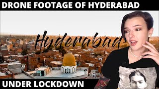 Drone video of Hyderabad under lockdown | REACTION! | Indi Rossi
