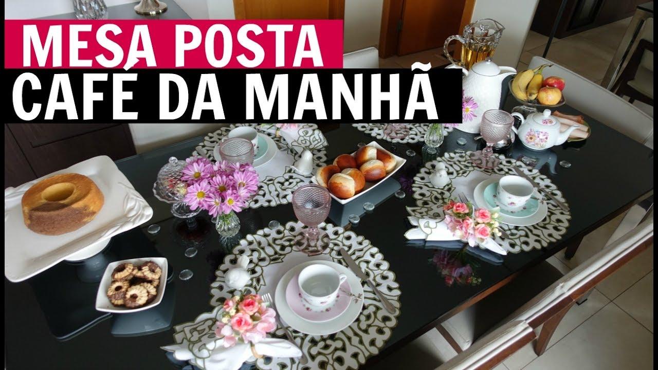 MESA DE CAF DA MANH  mesaemdetalhes  YouTube