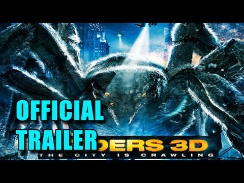 Spiders 3D Official Trailer (2012)