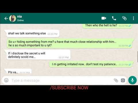 Cute Gf Funny Whatsapp Chat With Bf