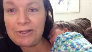Breast Feeding Tips -  Making Cluster Feeding Easy