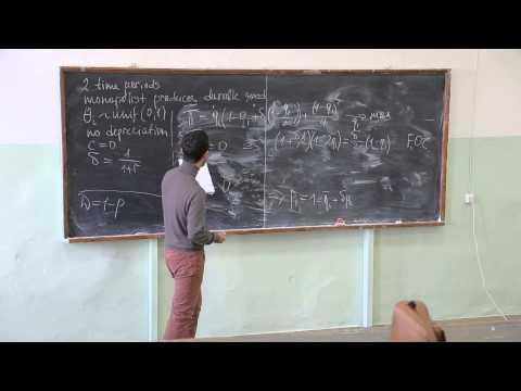 Теория отраслевых рынков. Лекция 7. Азамат Кашакбаев (CERGE-EI, Прага)