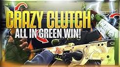 CRAZY ALL IN GREEN 25X WIN! CSGO Derby Gambling)