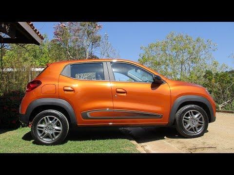 Renault Kwid Intense no uso com Juvenal Jorge