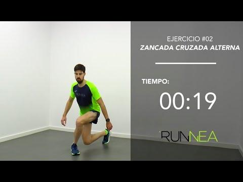 La mejor sesión  de ejercicios de fuerza para runners  en solo 10 minutos
