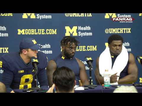Michigan Football: 20-10 Win Over Indiana Players Post-Game Press Conference