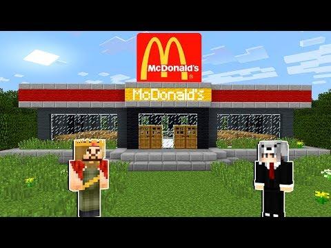 ZENGİN MCDONALD'S FABRİKASI YAPTIRIYOR! ? - Minecraft thumbnail