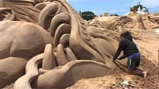 Fiesa 2010 - 8th International Sand Sculpture Festival - www.prosandart.com