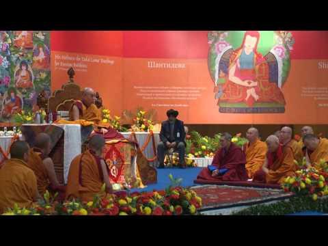Далай-лама. Учения для буддистов России ― 2016. День 1