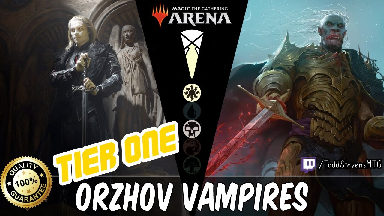 Orzhov Vampires Our First Tier One Tuesday Deck Youtube Store championship @ volgo games (volgograd, russia). youtube