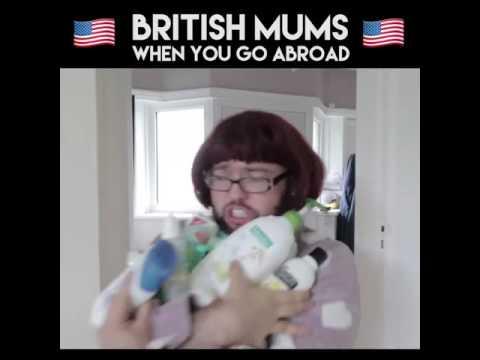 British Moms  । When u go abroad। Funny Vines। Vines World