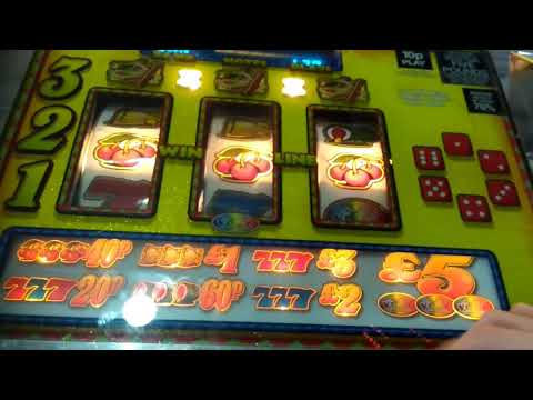 ADDERS AND LADDERS ARENA 5JP FRUIT MACHINE WSM GRAND PIER 2018