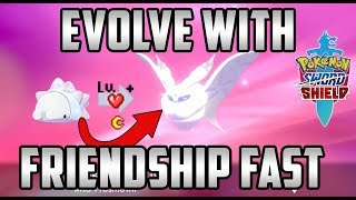The Fastest Way to Evolve Any Pokemon with Friendship