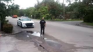 That time officer Siegel badge 1728 met Big Nick! Walk of shame!