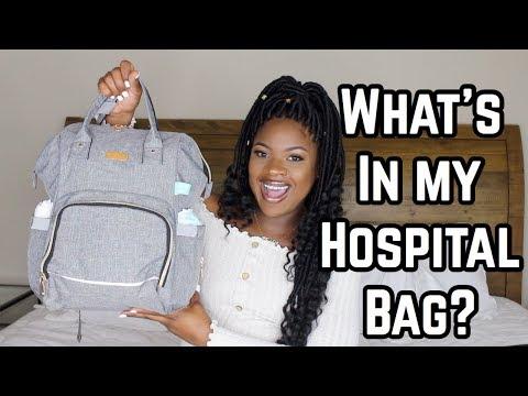 WHAT'S IN MY HOSPITAL BAG?   TROPHDOPH