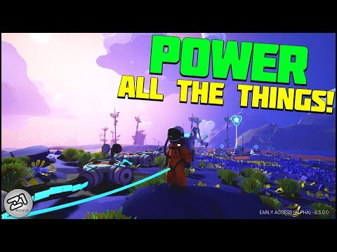 Powering all the Research Chambers! NEW Research Update  Ep2 Lets Play Astroneer Gameplay Z1 Gaming