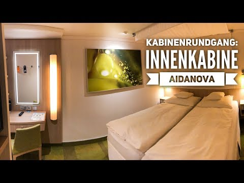 AIDAnova: Innenkabine IC Kabinenrundgang