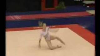 Sandra Raluca Izbasa - FX (European champ 2008 TF)
