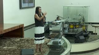 Mentes tranquilas, mulheres felizes   Pra  Monica Lima   05 11 2018