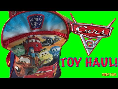 DISNEY CARS 3 Hunt For New Toys! HAUL MINIS, SUPER SQUISHY MASH'EMS, TSUM TSUM! Tubey Toys