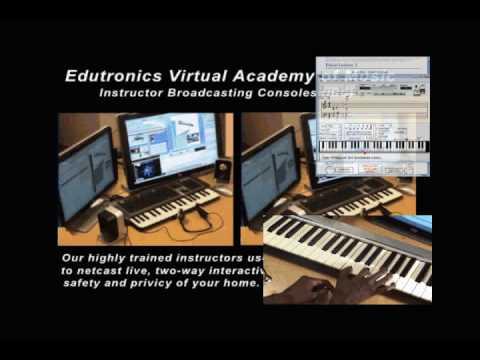 Edutronics Virtual Academy of Music Live online instruction
