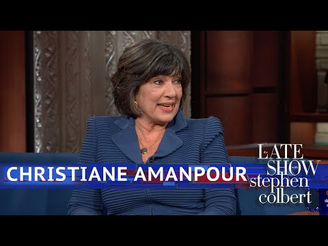 Christiane Amanpour Is The 'BFF Of The People'