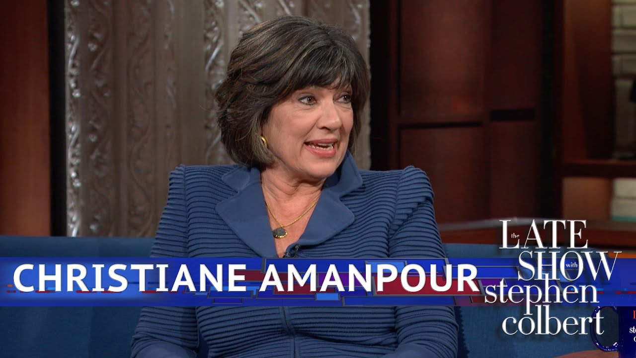 Christiane Amanpour Is The 'BFF Of The People' - YouTube