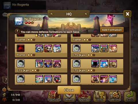 Gemstar - siege 4* defs talks