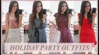 HOLIDAY PARTY OUTFIT IDEAS 2018