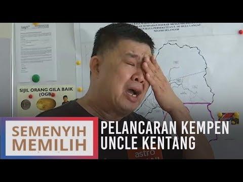 PRK Semenyih: Uncle Kentang sebak menitis air mata