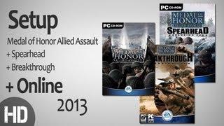 Medal of Honor Allied Assault + Online 2013 | شرح تسطيب لعبه ميدل + طريقه اللعب اونلاين